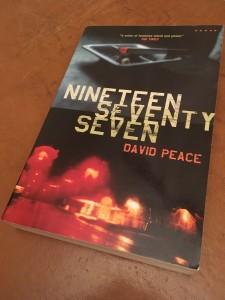 David Peace's 1977